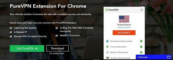 Revisión-de-Chrome-purevpn-review