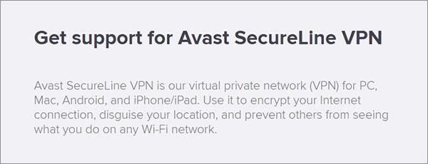 Supoort-Avast-SecureLine-VPN-Review