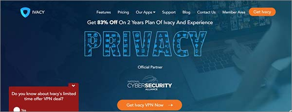 用Ivacy于绕开ISP节流问题的