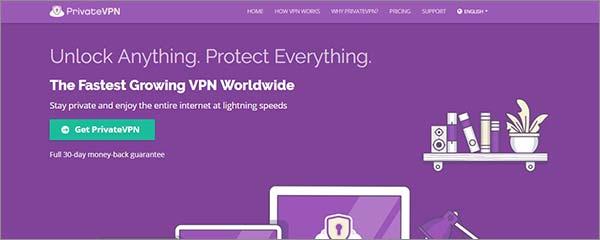 用PrivateVPN于绕开ISP节流问题的