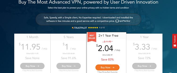 隐私VPN-1