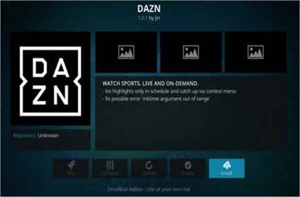 DAZN-addon-Kodi-for-Parker-and-Joshua-fight