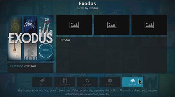Exodus Add on Netflix Kodi Alternative