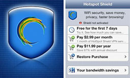 HotSpot Shield VPN Browser for iPhone