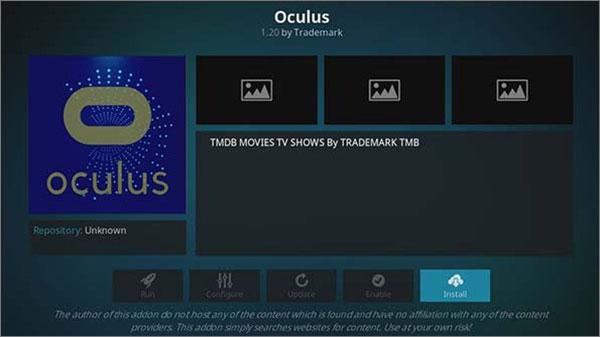 Oculus Netflix Kodi Substitute