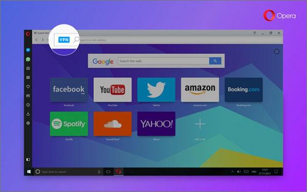 Opera VPN Benefits