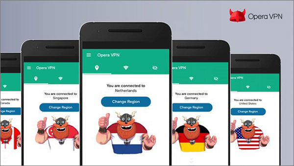 Opera VPN Browser for Android