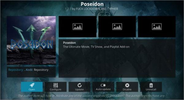 Poseidon Kodi for Netflix Addon Alternative