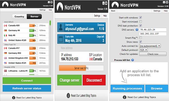 Protocolos y cifrado de NordVPN