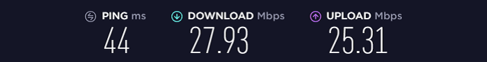 Speed-Test-without-Opera-VPN-Connected