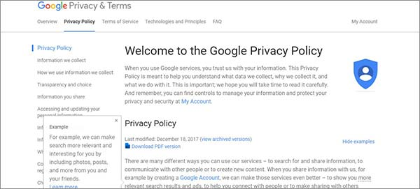Alphabet-Outline-VPN-Privacy-Policy-Review