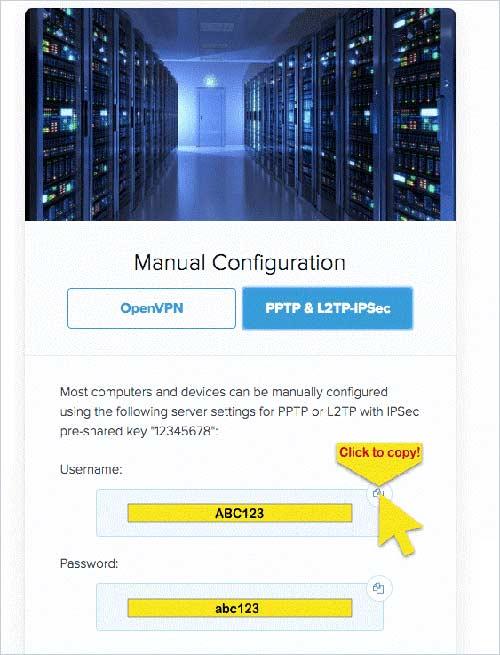 Configuración ExpressVPN en Windows