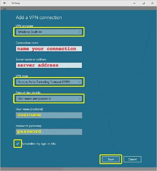 Configurar Expressvpn Paso 4