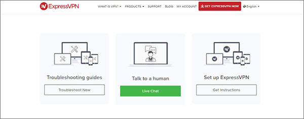 Examen-du-service-client-Express-VPN