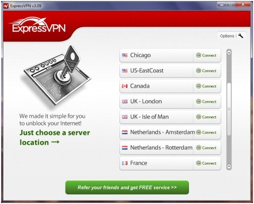 ExpressVPN-Software