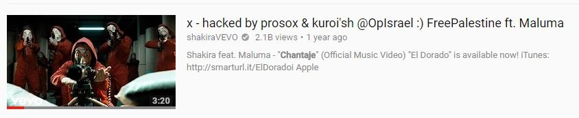 Famous YouTube Channels Hacked by Prosox & Kuroi'sh