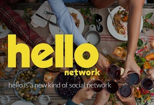 Hello Network a new app