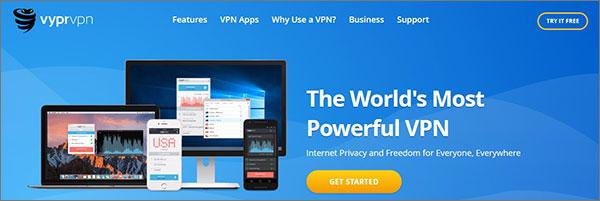 Ireland VPN Service VyprVPN