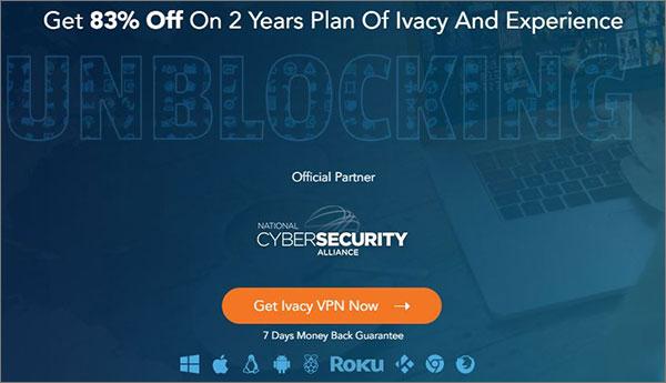 Ivacy best VPN for Calling
