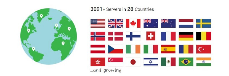 PIA Servers Network Reddit