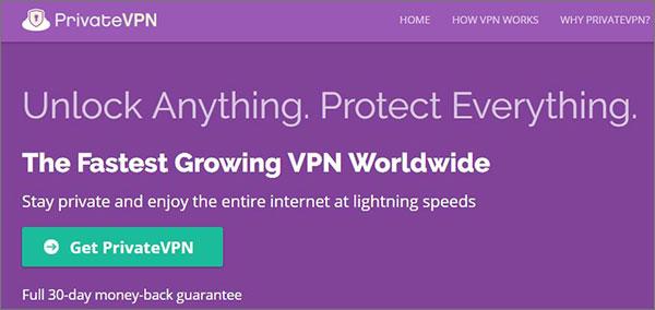 PrivateVPN-best-VPN-for-Korea