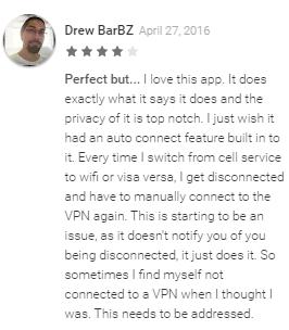 Revisión de ExpressVPN en Google Play Drew BarBZ
