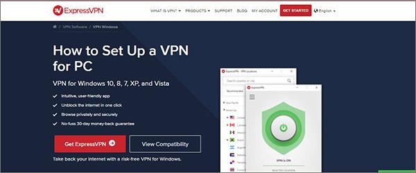 Revisión de configuración de ExpressVPN