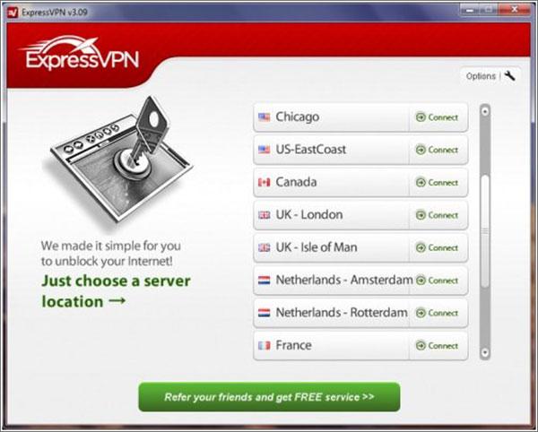 Software ExpressVPN