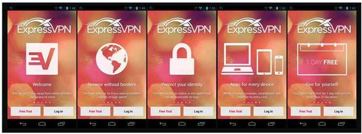 application-vpn-Android