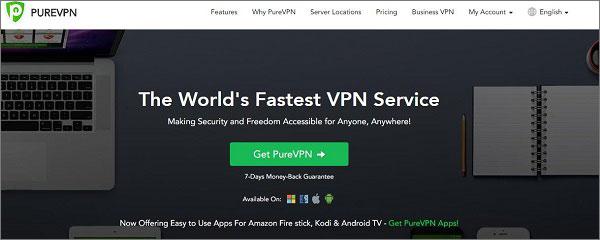 Лучший российский VPN - PureVPN