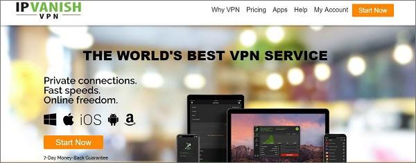IPVanish VPN for iPhone