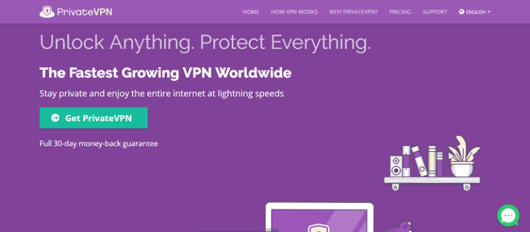PrivateVPN la mejor VPN en 2018