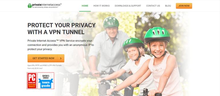 Proveedor privado de acceso a Internet VPN