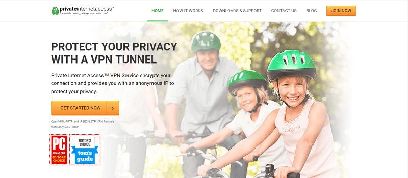 privater-Internetzugangsanbieter