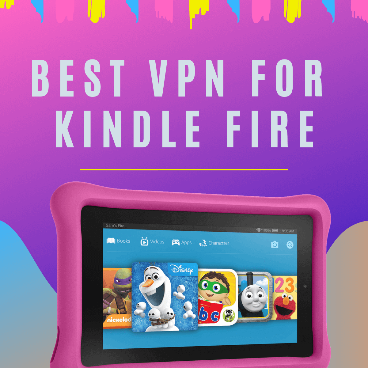 Best VPN for Kindle Fire - Access Any Geo-blocked apps on