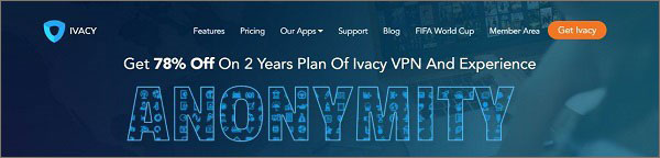 Ivacy VPN for MovieBox