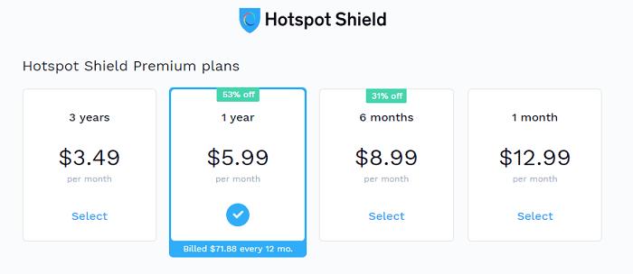 Hotspot-Shield-Price