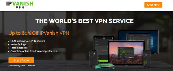 IPVanish Best UK VPN 2018