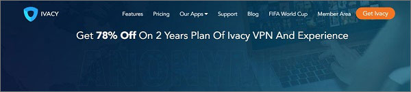 Ivacy VPN for Romania