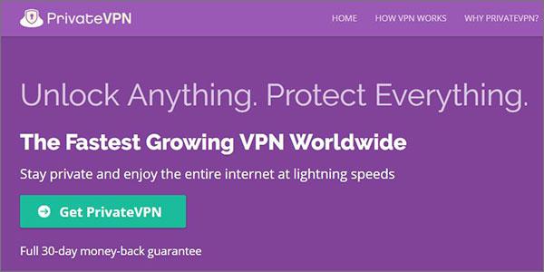 Cheap VPN Deals by PrivateVPN