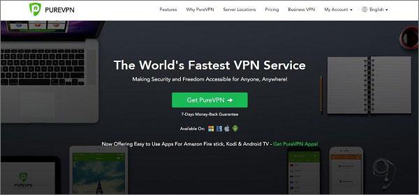 PureVPN - The Best VPN for USA