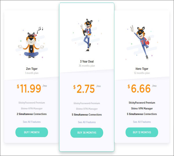 Pricing Plan: TigerVPN Review 2018 Analyzes Its Price, Servers And Features