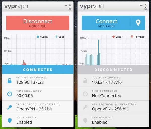 VyprVPN-Connected
