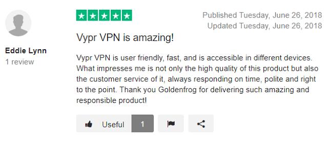 VyprVPN-Trustpilot-Review-2
