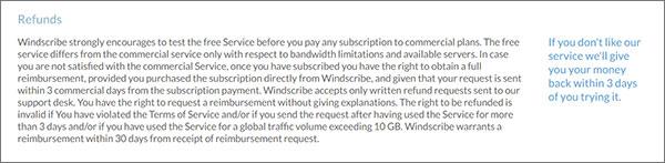 Windscribe-Refund-Policy