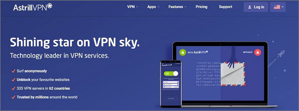 Astril VPN for Rapid Streaming