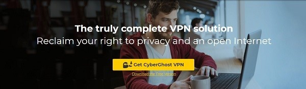 CyberGhost offers good security but average speeds