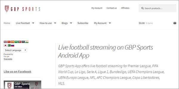 GBP-Sports-live-streaming-services-for-Android-and-PCs