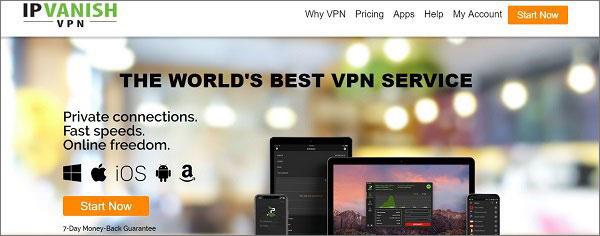 IPVanish for QNAP NAS Devices