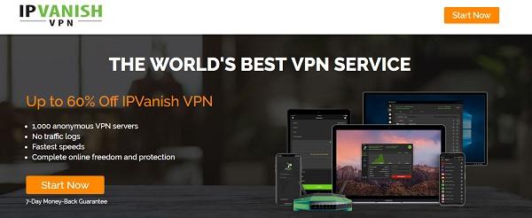 IPVanish offers thousands of different IP addresses